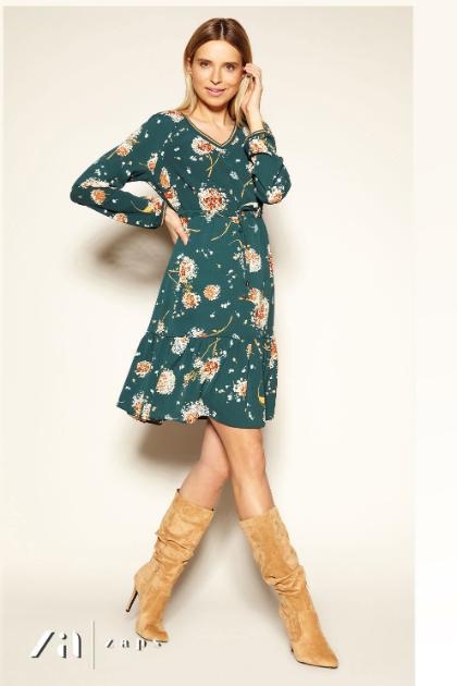 Платье Fogo Zaps, цветочный принт