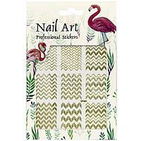 Наклейки для дизайна ногтей Nail Art Professional Stickers DP 301