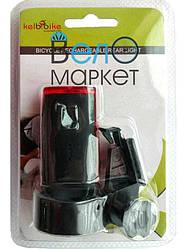 Стоп / Мигалка велосипедная задняя Стоп JY-6015 U на аккумуляторе / перезаряжаемая
