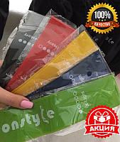 Фитнес резинки для фитнеса 5 шт + чехол в комплекте, набор лент-эспандеров резинок для фитнеса, фитнес ленты, фото 1