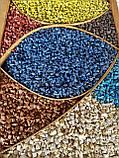 Кольорове каміння Синій Фракція 5-10 (20кг), фото 2