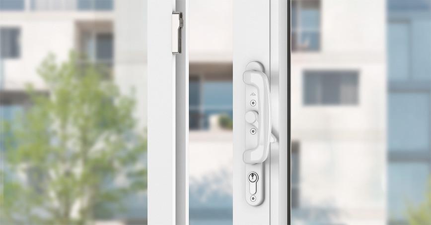 Фурнитурная система для простых раздвижных окон и дверей Roto