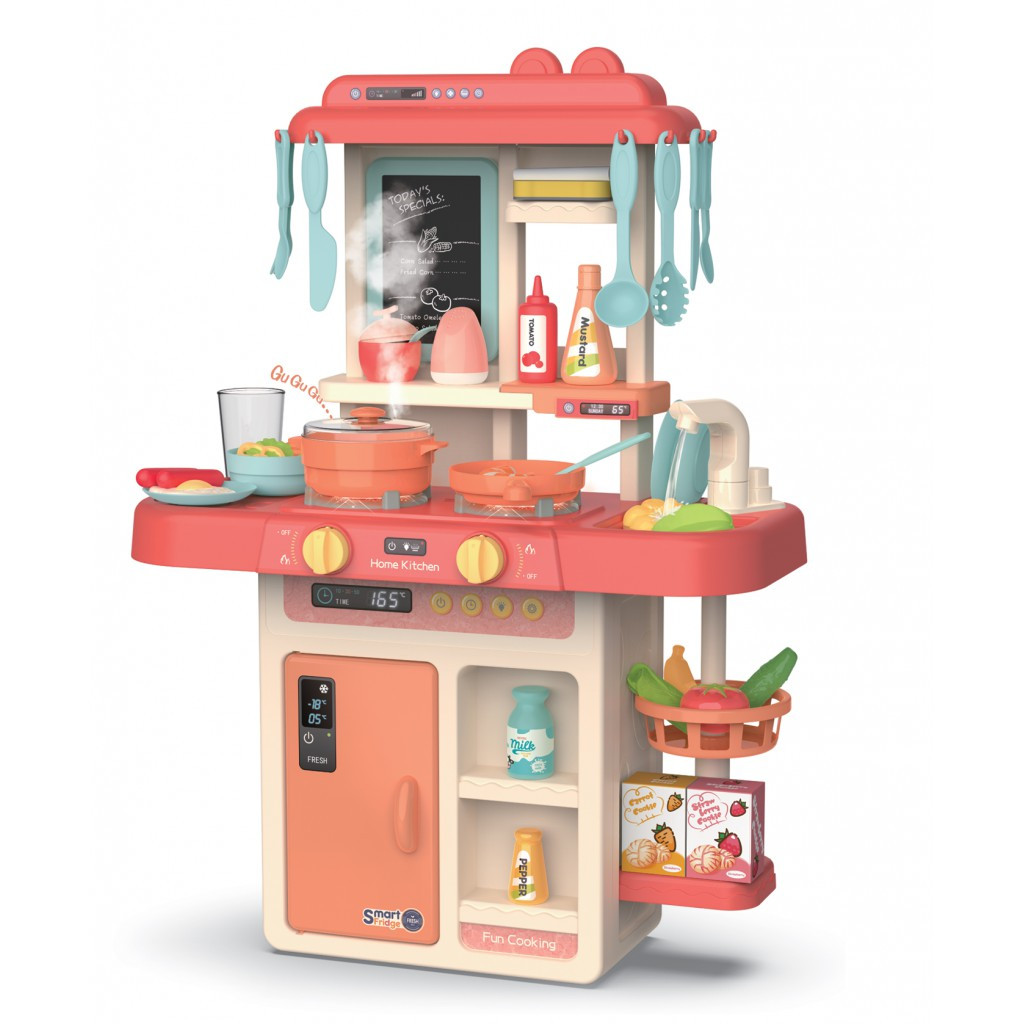 Детская кухня с аксессуарами Beibe Good 889-168 (розовая)