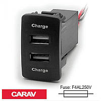 Розгалужувач USB Carav 17-205 Honda/Acura (2 порти)