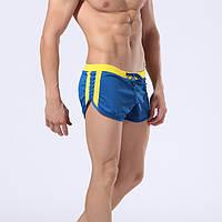Мужские пляжные шорты, плавки синий цвет