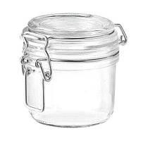 Банка для сыпучих стеклянная герметичная 200 мл Fido Terrina Bormioli Rocco 141360-F-01321990 + Бонус