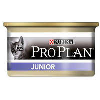 Консерва Purina Pro Plan Junior паштет со вкусом курицы 85г