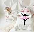 """Детский постельный комплект белья с аппликацией """"Балерина"""", фото 4"""