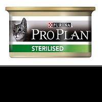 Консерва Purina Pro Plan Strerilised паштет со вкусом тунца с лососем 85г