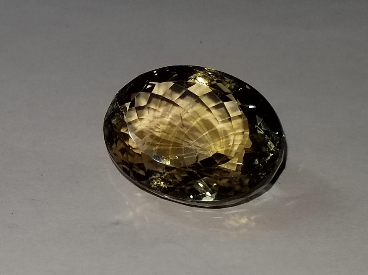 Шикарный натуральный цитрин 26.10 Ct  21 х 15 х 10 мм