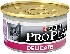 Консерва Purina Pro Plan Delicate паштет со вкусом индейки 85г