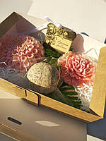 Подарочный набор косметики для тела Розовое сияние