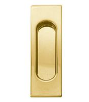Ручка для раздвижных дверей Fimet 3663A полированная латунь (Италия)
