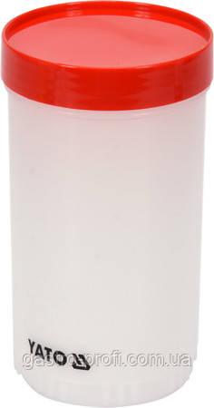 Диспенсер барный 1 л красный YatoGastro YG-07115, фото 2