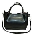 Женская сумка черная из натуральной замши Michael Kors (27*32*14), фото 2