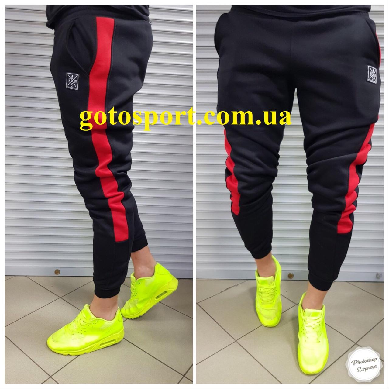 Теплые мужские спортивные штаны Brave Gotosport, фото 1