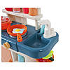 Детская кухня с аксессуарами Beibe Good 889-167 (бирюзовая), фото 4