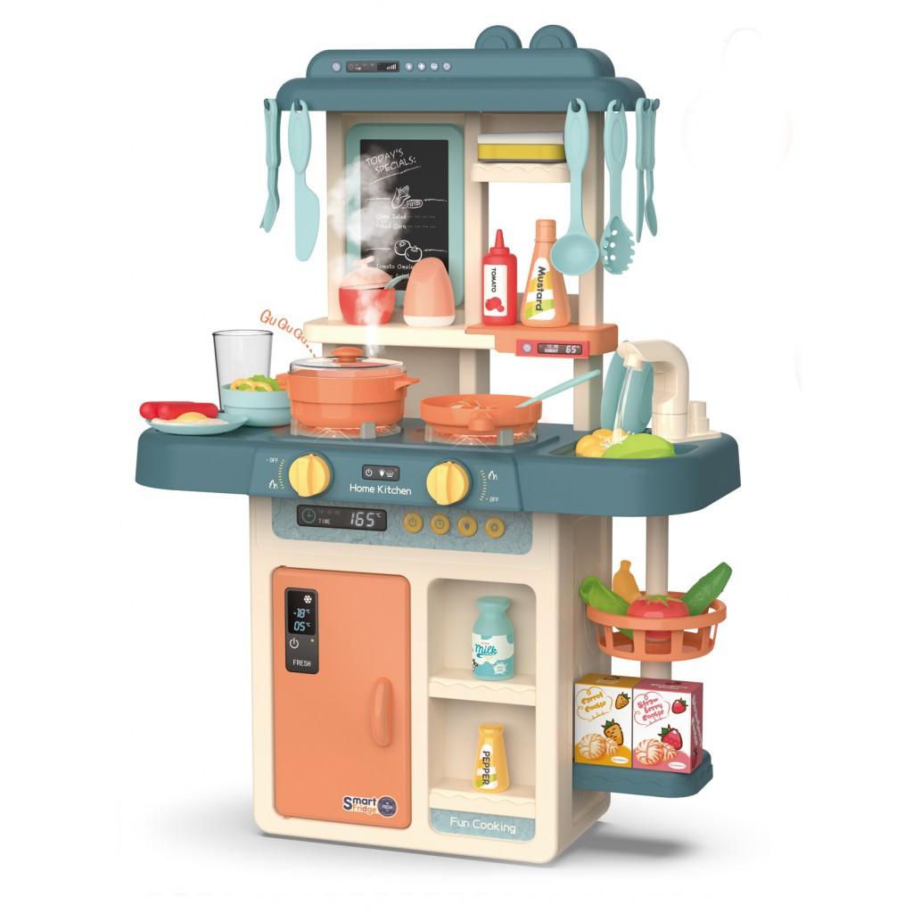 Детская кухня с аксессуарами Beibe Good 889-167 (бирюзовая)