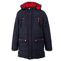 Куртка-ТРАНСФОРМЕР зимняя-демисезонная для мальчика Оксфорд 140,146,152,158см сьемний жилет