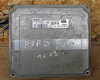 Компьютер Блок управления двигателем ЭБУ для Ford Fiesta MK6, SIEMENS S118763002C, 2S6A-12A650-PB, 2UFA, J38AC, фото 1