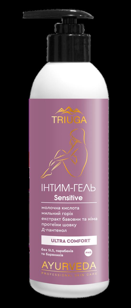 Гель для інтимної гігієни Triuga Herbal Sensitive, Триюга 300 мл
