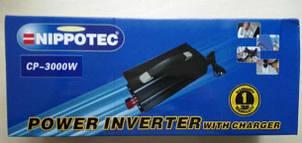 Преобразователь напряжения инвертор 12V-220 Вольт 3000 Вт + Зарядка, фото 2