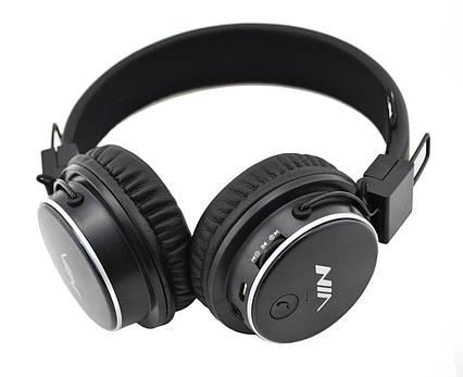 Беспроводные Bluetooth стерео наушники NIA Q8 с МР3 и FM Black