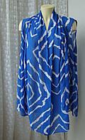 Туника женская модная разлетайка летняя пляжная батал бренд Joanna Hope р.60