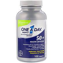 Мультивитамины для мужчин 50+, One-A-Day, Bayer, 100 таблеток