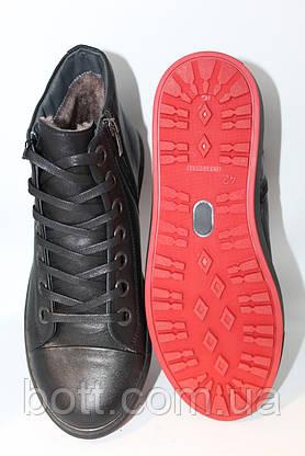 Черные кожаные ботинки, фото 2
