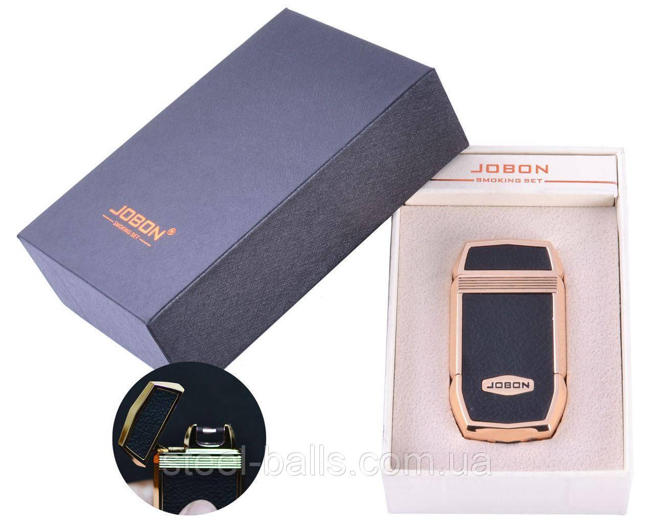 Электроимпульсная зажигалка в подарочной упаковке Jobon (USB)