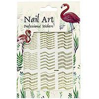 Наклейки для дизайна ногтей Nail Art Professional Stickers DP 306