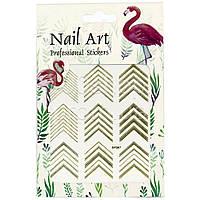 Наклейки для дизайна ногтей Nail Art Professional Stickers DP 307