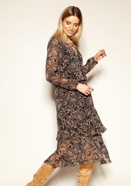 Женское платье, шифоновое Raquez Zaps