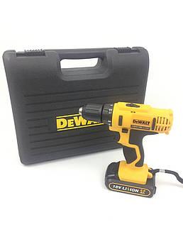 Шуруповерт акумуляторний DeWALT DCD776