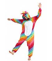 """Детская пижама Кигуруми """" Морской Чешуйчатый"""" для взрослых, фото 1"""