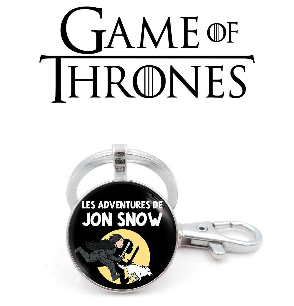 Брелок к приключениям Джон Сноу Игра престолов / Game of Thrones