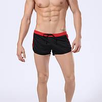 Шорты для пляжа, плавки мужские черный цвет