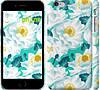 """Чехол на iPhone 6 Plus цветочный узор м5 """"2501c-48"""""""