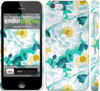 """Чехол на iPhone 5c цветочный узор м5 """"2501c-23"""""""