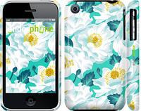 """Чехол на iPhone 3Gs цветочный узор м5 """"2501c-34"""""""