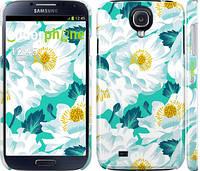 """Чехол на Samsung Galaxy S4 i9500 цветочный узор м5 """"2501c-13"""""""