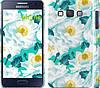 """Чехол на Samsung Galaxy A3 A300H цветочный узор м5 """"2501c-72"""""""