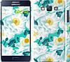 """Чехол на Samsung Galaxy A5 A500H цветочный узор м5 """"2501c-73"""""""