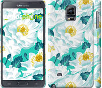 "Чехол на Samsung Galaxy Note 4 N910H цветочный узор м5 ""2501c-64"""