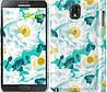 "Чехол на Samsung Galaxy Note 3 N9000 цветочный узор м5 ""2501c-29"""