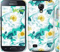 "Чехол на Samsung Galaxy S4 mini Duos GT i9192 цветочный узор м5 ""2501c-63"""