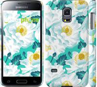 "Чехол на Samsung Galaxy S5 mini G800H цветочный узор м5 ""2501c-44"""