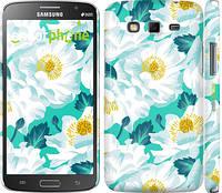 """Чехол на Samsung Galaxy Grand 2 G7102 цветочный узор м5 """"2501c-41"""""""