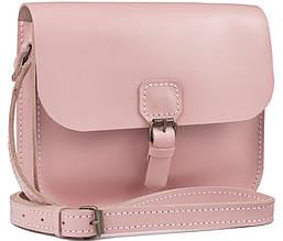 Женская Кожаная Винтажная Сумка Art Pelle Handy через Плечо (AP90346) Розовая Kaiser